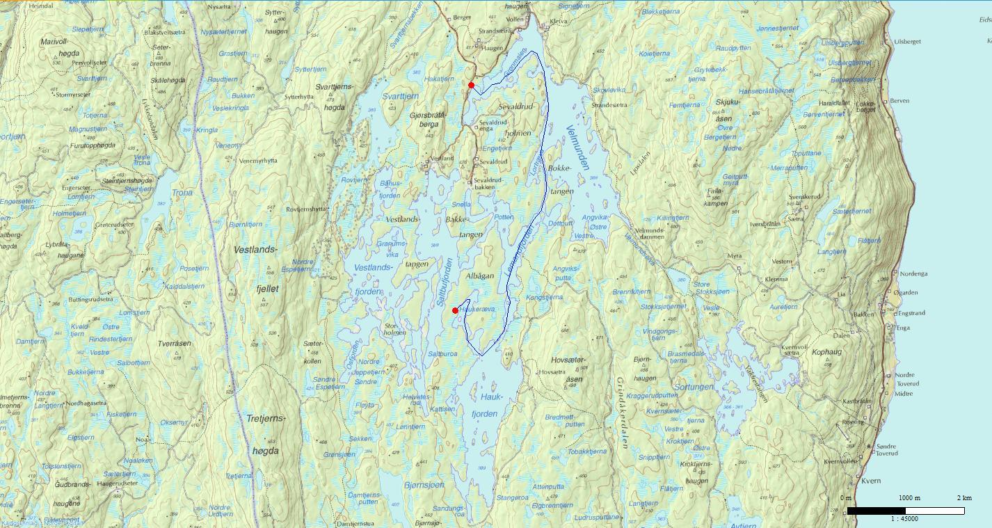 kart fjorda .padleforumet.• View topic   August turer 2012. kart fjorda