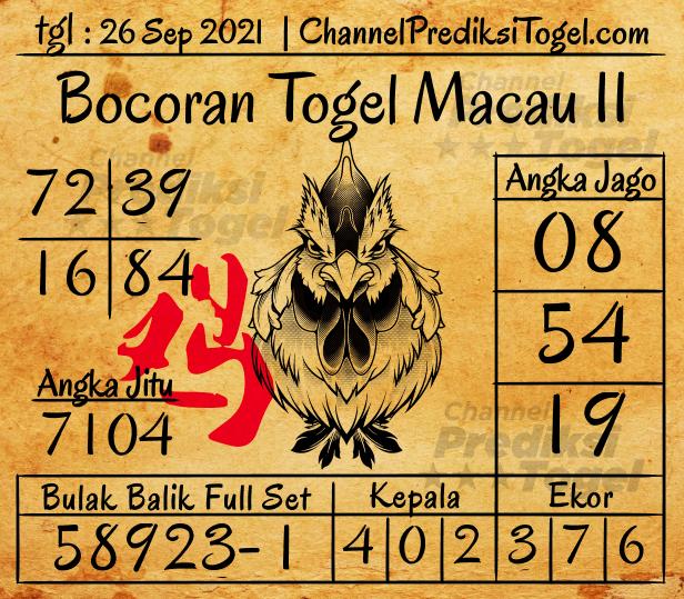 Bocoran Togel Toto Macau P2