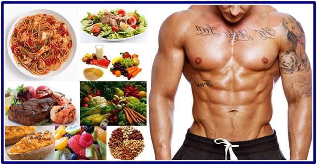 Ejemplo de Dieta para hombres Ectomorfos que quieren aumentar masa muscular
