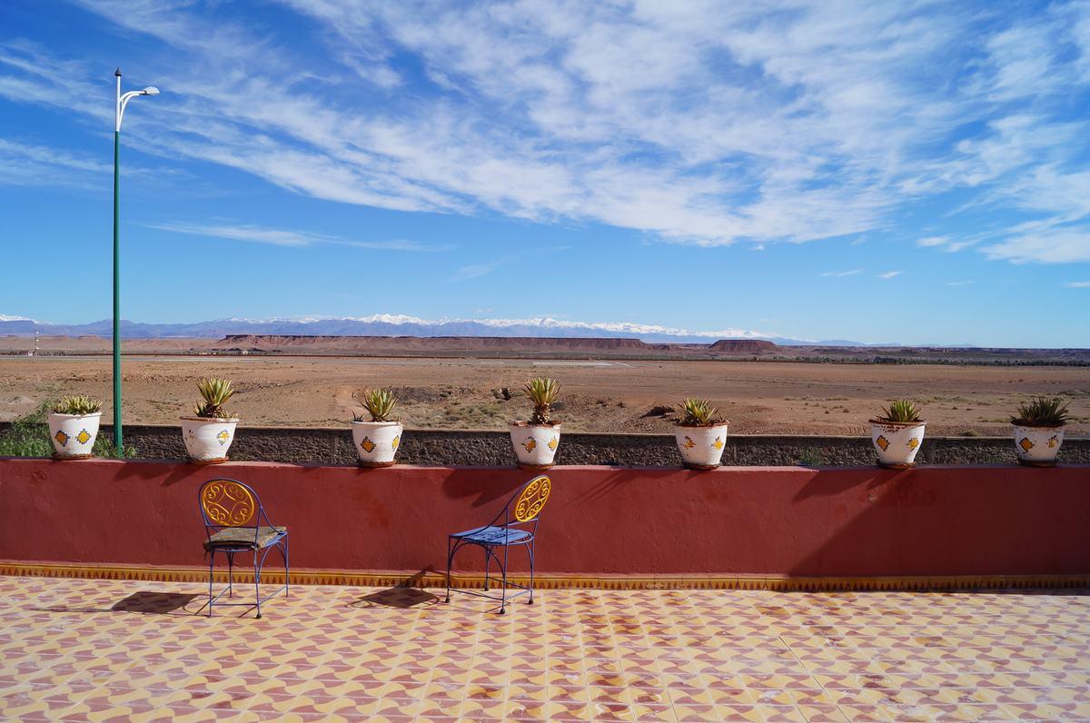 terraza le petit riad ouarzazate