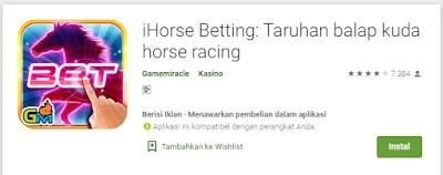 Game Judi Pacuan Kuda Android Menarik Untuk Dimainkan