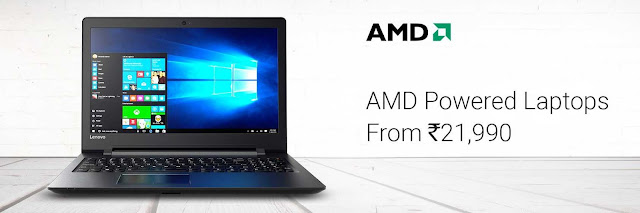Best AMD Powered Laptops Starting from Rs.21990/-