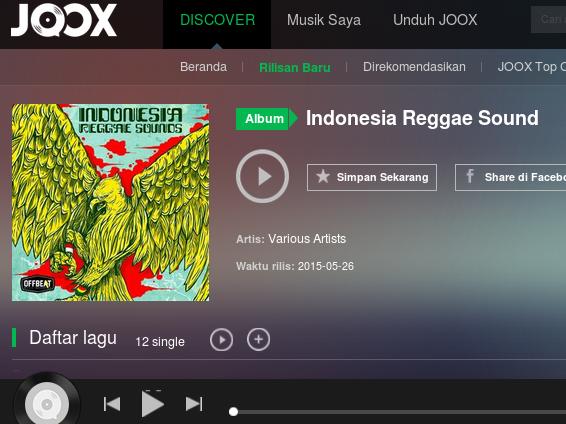 Ini Dia Daftar Musisi Reggae Indonesia