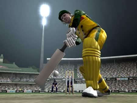 cricket 07 ea sports Lofted Shot