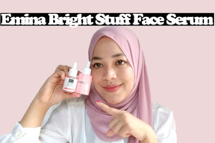 Review Emina Bright Stuff Face Serum