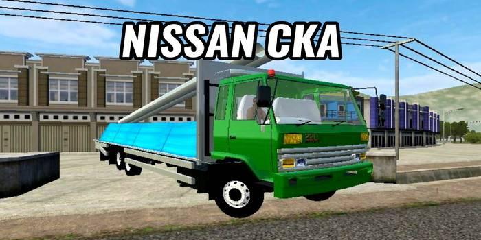 mod truck bussid nissan cka