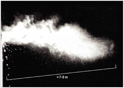 Distanza droplets Covid-19