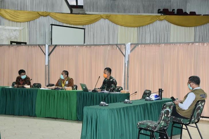 Ketua Pelaksana Harian Gugus Tugas Covid-19 Melaksanakan Rapat Kordinasi Bersama Gubernur Sulsel