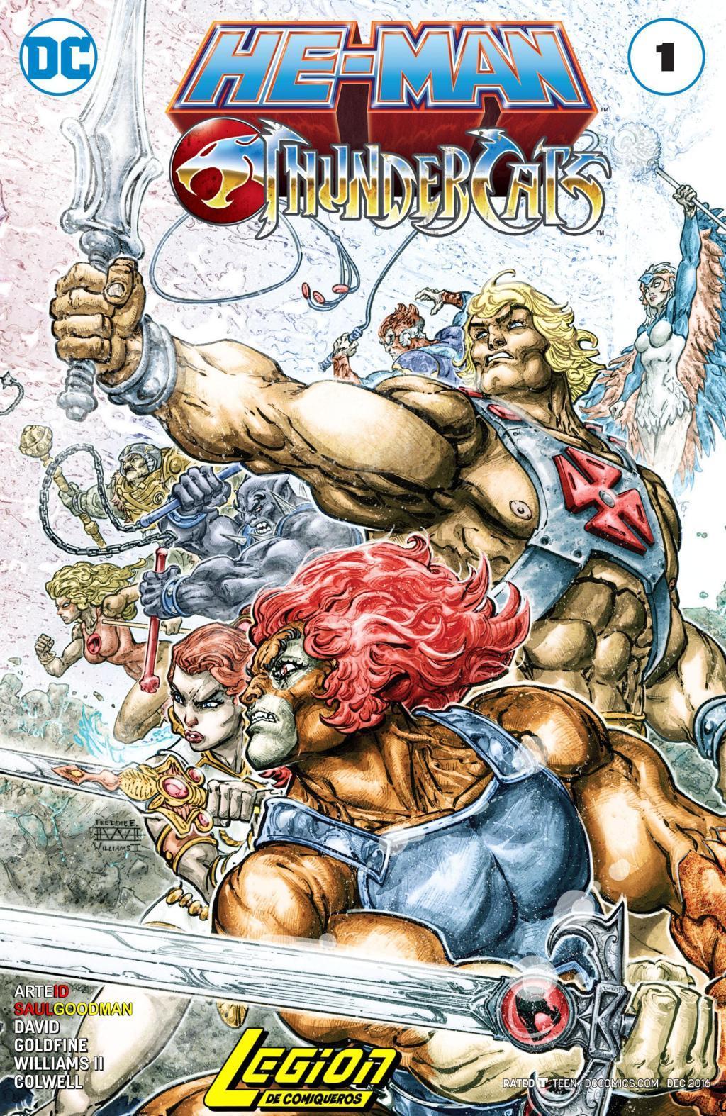 He-Man y Thundercats
