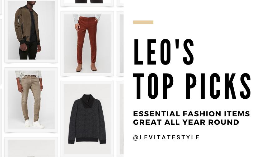 Leo Chan Levitate Style Fashion Top Picks