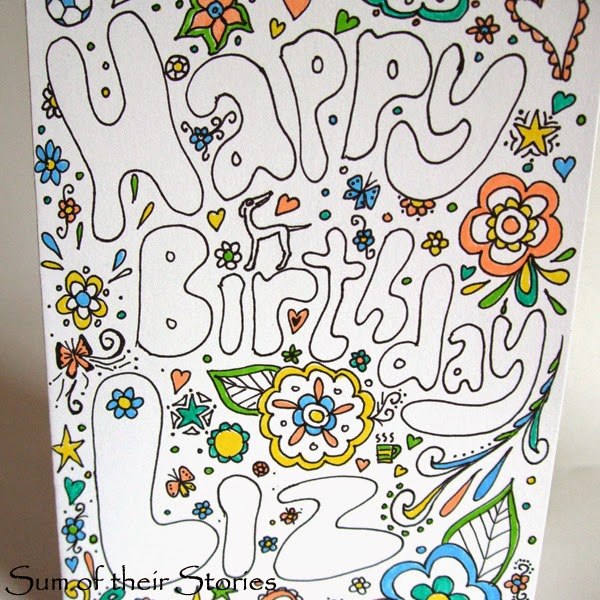Doodle cards