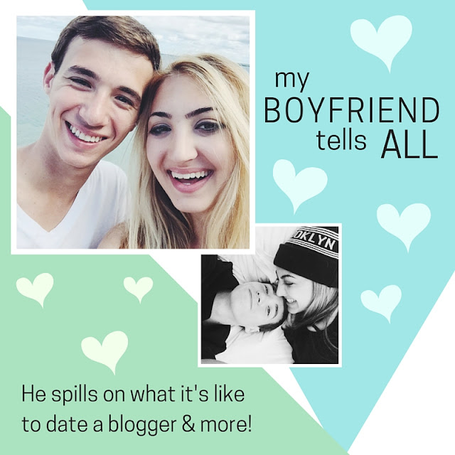 boyfriend perspective on blogging and dating a fashion blogger