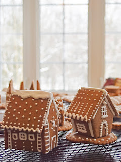 #QuiltBee: #gingerbread house