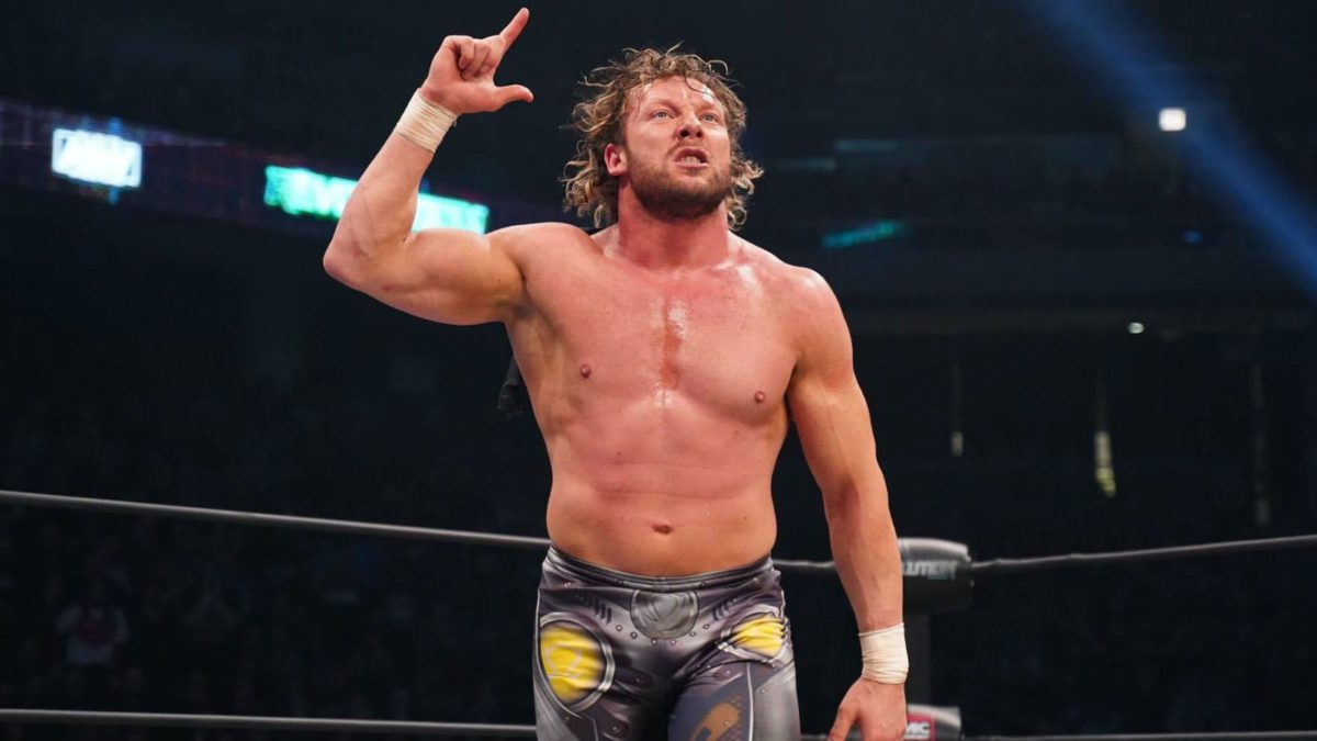 Kenny Omega explica as regras da Exploding Barbed Wire Deathmatch