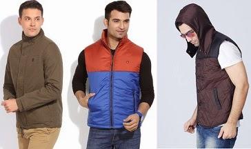 Men's Branded Jackets Full / Half Sleeve : Upto 60% Off@ Flipkart