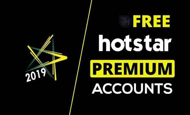 Free Premium Hotstar Accounts & Passwords 2019
