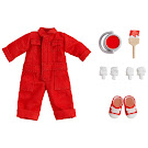 Nendoroid Colorful Coveralls, Red Clothing Set Item