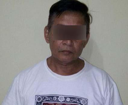 M Nasir Nasution tersangka pelaku cabul