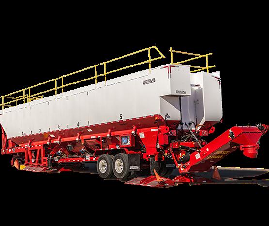 equipamiento para ejecucion de fractura hidraulica transportador agente sosten