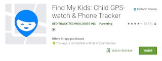 Aplikasi Untuk Mengawasi Kegiatan Anak Melalui Smartphone