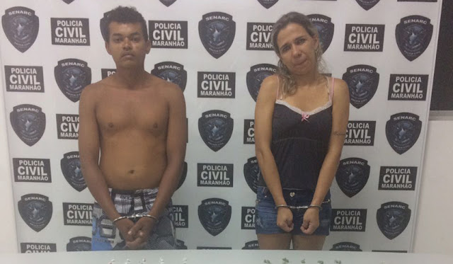 Casal de traficantes de droga são presos no bairro Cohabiano pela Senarc