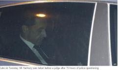 French Ex-President Sarkozy