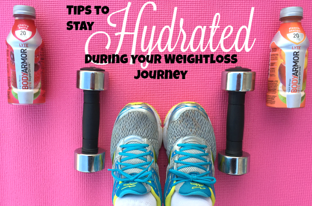 Tips to Stay Hydrated During Your Weightloss Journey