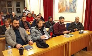 Δήμος Καλαμάτας - Σύσκεψη με τους Προέδρους Κοινοτήτων