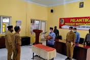 Pejabat Kepala Desa Pojok Resmi Dilantik Camat Campurdarat