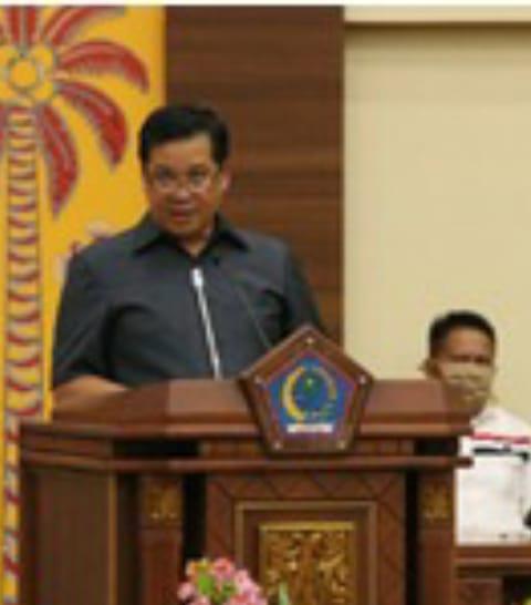 DPRD Sulut, Gelar Rapat Paripurna LKPJ Gubernur Tahun 2019