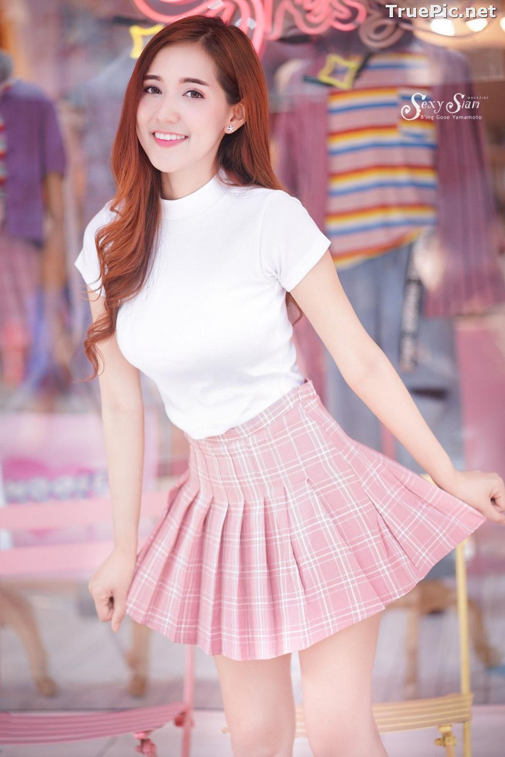 Image Thailand Model - Jarunya Boonya - Pink Love Love Love - TruePic.net - Picture-8