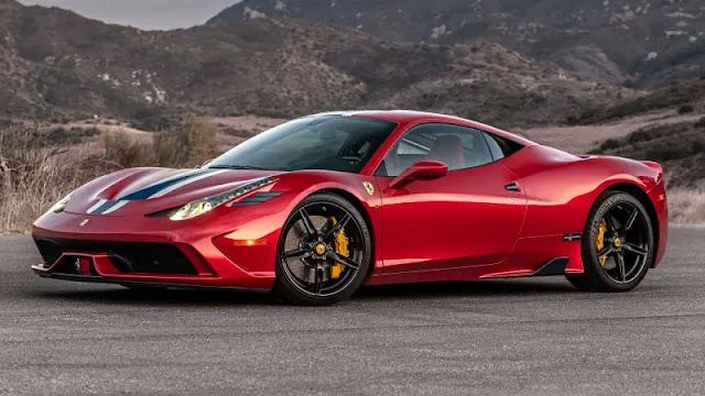 Mobil mewah dan pemiliknya di Indonesia - Ferrari 458
