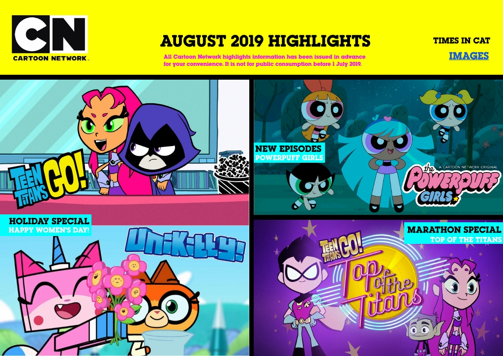 Entertainment Inside Us: Cartoon Network (Africa)