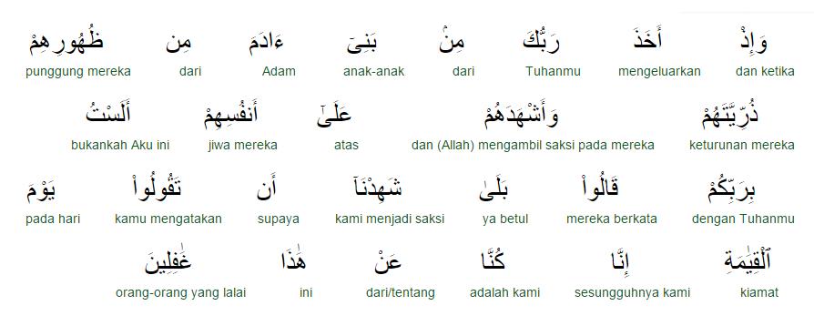 Surat Al Quraisy Arti Perkata