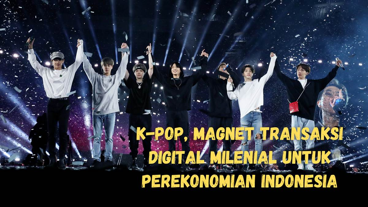 Kpop transaksi digital milenial