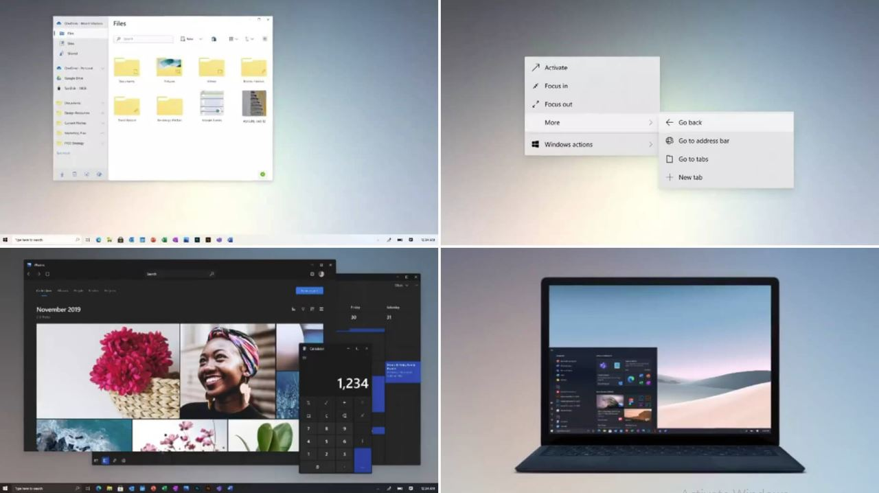 Mass update for Windows 10 to provide Windows 10X features