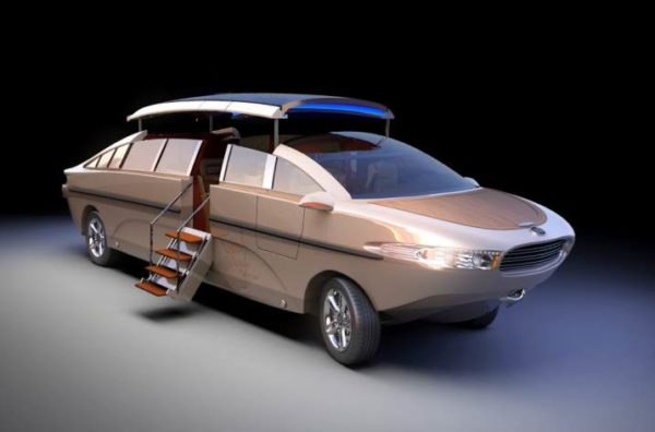 This Limousine Can Move On Land And On Water – Its Awesome