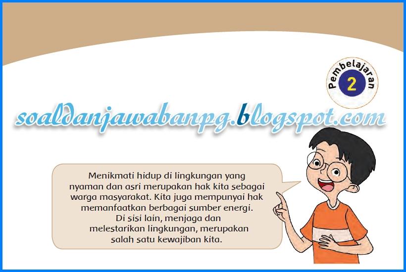 Kunci Jawaban Buku Tematik Kelas 4 Tema 9 Subtema 1 Halaman 11 12
