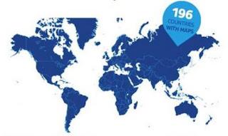 Strassenbavigation Weltweit und auch Offline nutzbar.