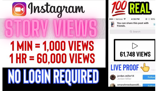 Increase your Instagram story views without login or survey (2021 Method).
