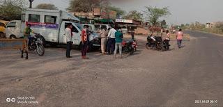 झाबुआ यातायात द्वारा की गयी चालानी कार्यवाही
