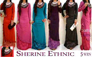 Sherine Ethnic fit to L