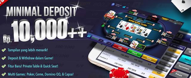 Situs Judi Poker Paling Murah Dan Mudah Menang 2020