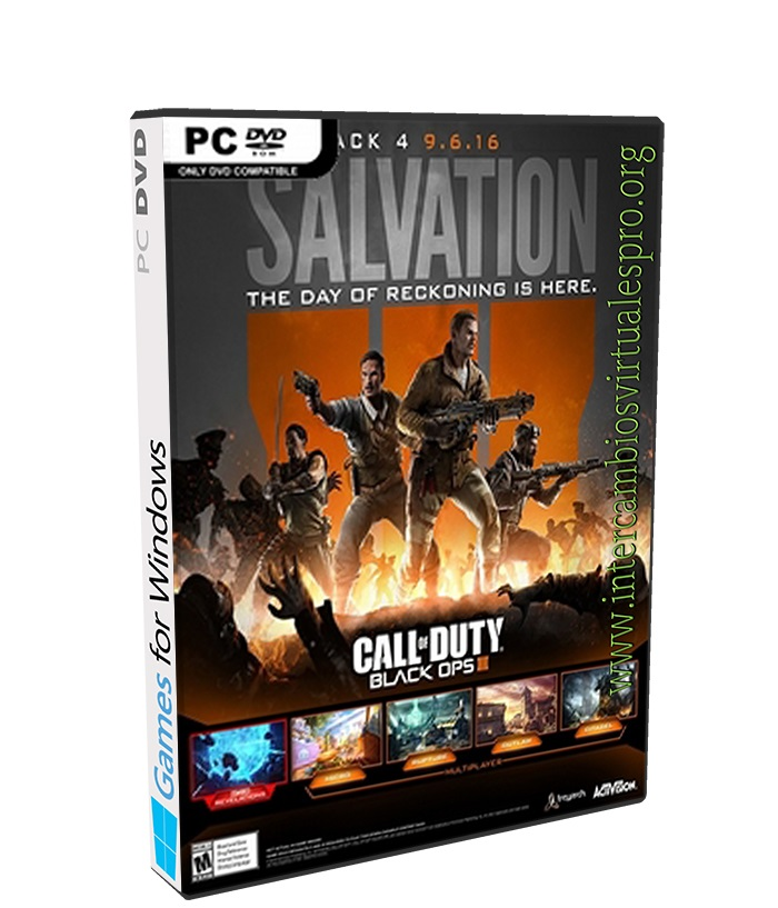 Call of Duty Black Ops III Salvation DLC poster box cover