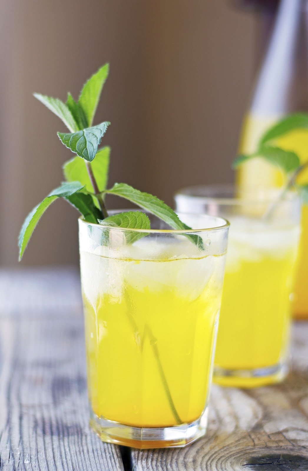 Turmeric and Ginger Iced Tea