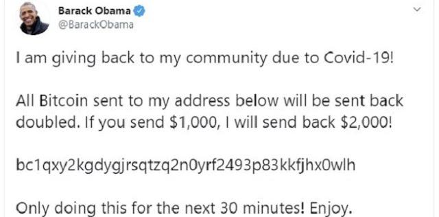 Akun Twitter Obama hingga Bill Gates Diretas Minta Kirim Bitcoin, Pelaku Diduga Hasilkan Rp1,4 Miliar