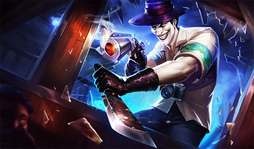 Ác nhân Joker với nụ cười ám ảnh trong Liên Quân Mobile