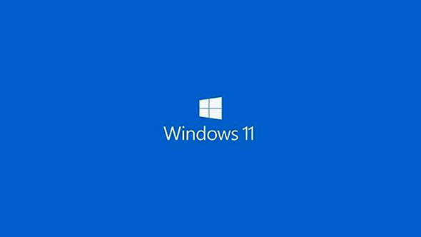Start updating windows 7 to windows 10,Windows 11,windows 11 written in white colour on a blue background with window icon,