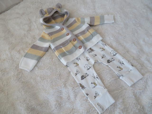 vauvanvaatteet nalle puh trikoot neuletakki