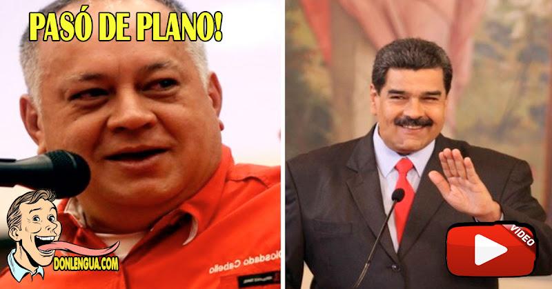 EVIDENTE | Mal Imitador de Diosdado Cabello deja en ridículo a Maduro En Vivo